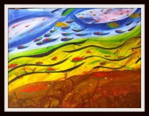 evans painting 700